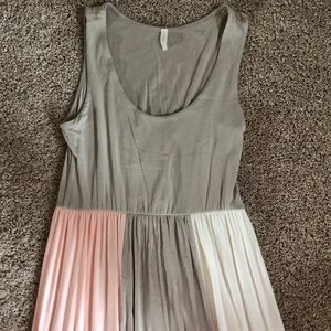 NWOT Pink Blush Maternity Dress